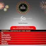 2017 VODAFONE GHANA MUSIC AWARDS (VGMAs): The Nominees are…