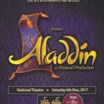 ALADDIN: AIS & Accra Symphony Orchestra Projection is on the 6th of May