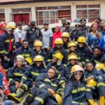 From a Brand New Mercedes Benz Ambulance, to Fire Extinguishers, to Blankets…. BIG CHURCH FOUNDATION Shows the Federal Fire Service Some Love – Photos speak!
