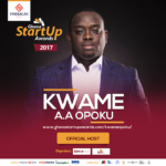 2017 Premium Bank Ghana Startup Awards: Kwame A.A Opoku Announced as Host