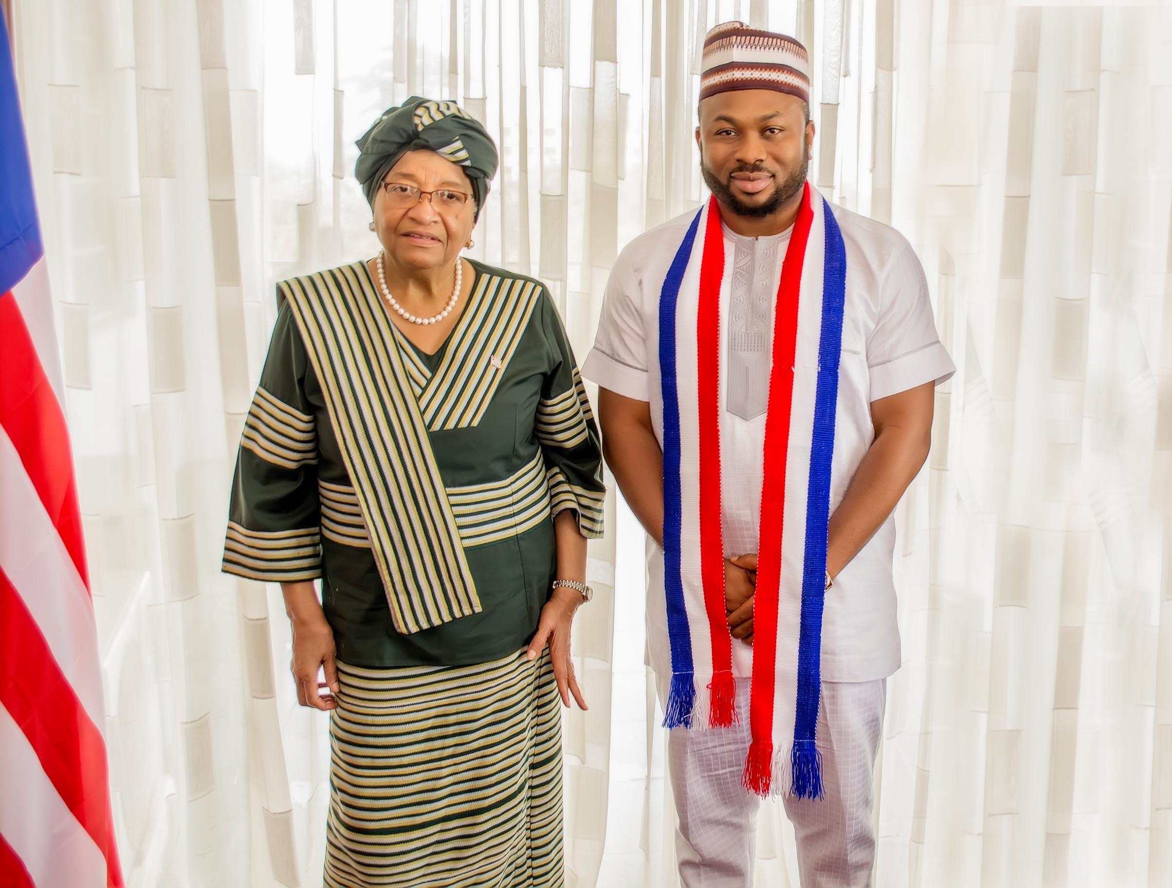 Dr Olakunle Churchill in Liberia (1)