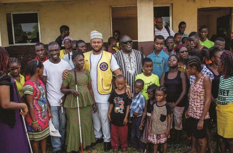 Dr Olakunle Churchill in Liberia (6)