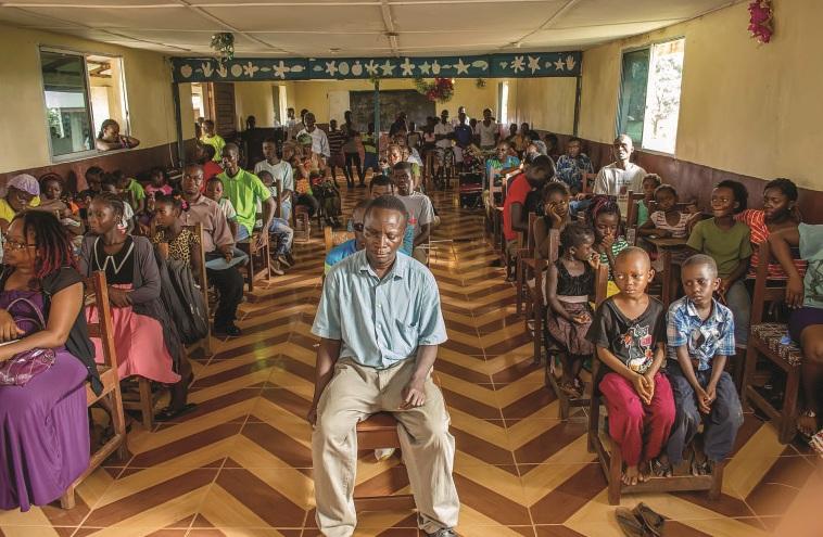 Dr Olakunle Churchill in Liberia (7)