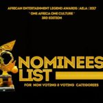 Nominees list for the 2017 AFRICAN ENTERTAINMENT LEGEND AWARDS [AELA] is out