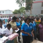 Looming Sanitation Danger? No Worries as YAA ASANTEWAA OLD GIRLS Come Timely for their School