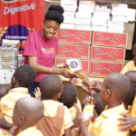 Victoria Michaels Foundation & McVities collaborate to make AKWEIBU Basic School, Dansoman, HAPPY!