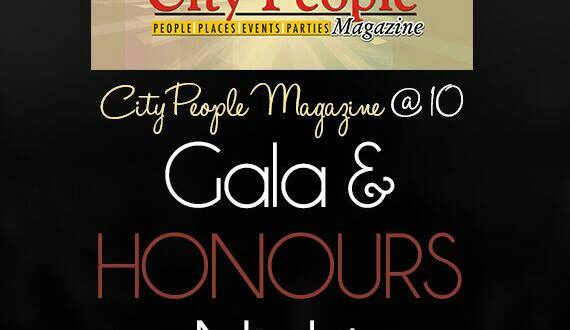 CITY PEOPLE MAGAZINE @ 10 Gala & Honours - logo
