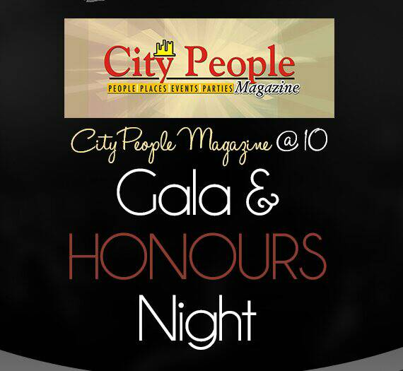 CITY PEOPLE MAGAZINE @ 10 Gala & Honours - logo