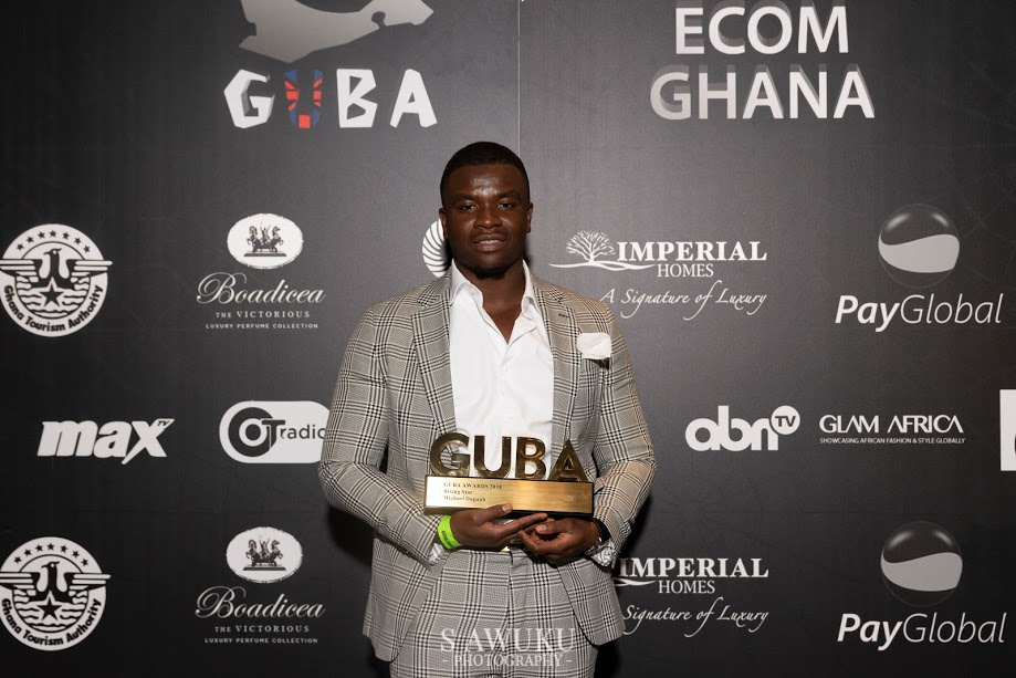 Award Winner Michael Dapaah