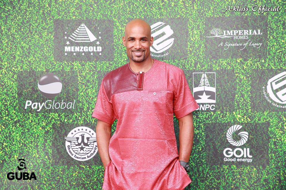 Host Boris Kodjoe