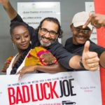 BAD LUCK JOE (…all because of Patapaa) tells a story of an expressed & suppressed Love, as well played by Chris Attoh, Sika Osei, Michele Attoh, Adomaa – showing on the 5th of October at the Silverbird Cinema, Accra