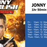 Because we appreciate you, here is how you can enjoy your popcorn & drink, watching one of our Movies of the Week: Rowan Atkinson in 'JOHNNY ENGLISH STRIKES AGAIN'