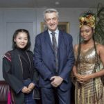 Photos: After coming on to perform as the only African act in Switzerland, eShun takes out time to have tête-à-tête with UN High Commissioner for Refugees (UNHCR), Filippo Grandi