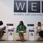 Even in Egypt, there was no HYDEing place for PEACE…as she was a guest at the Africa 2018 Forum + spoke extensively on gender parity in Media