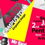 Mr Eazi to headline the 2019 4S-R CAMPUS TOUR 3 Pent Hall Week Celebration