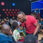 DKB's 'Comedy Express' brought out laughter from the Adults who paid attention to part two of his Jokes