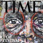TIME: South African artist & story-teller, NELSON MAKAMO's work makes it on February 2019 cover