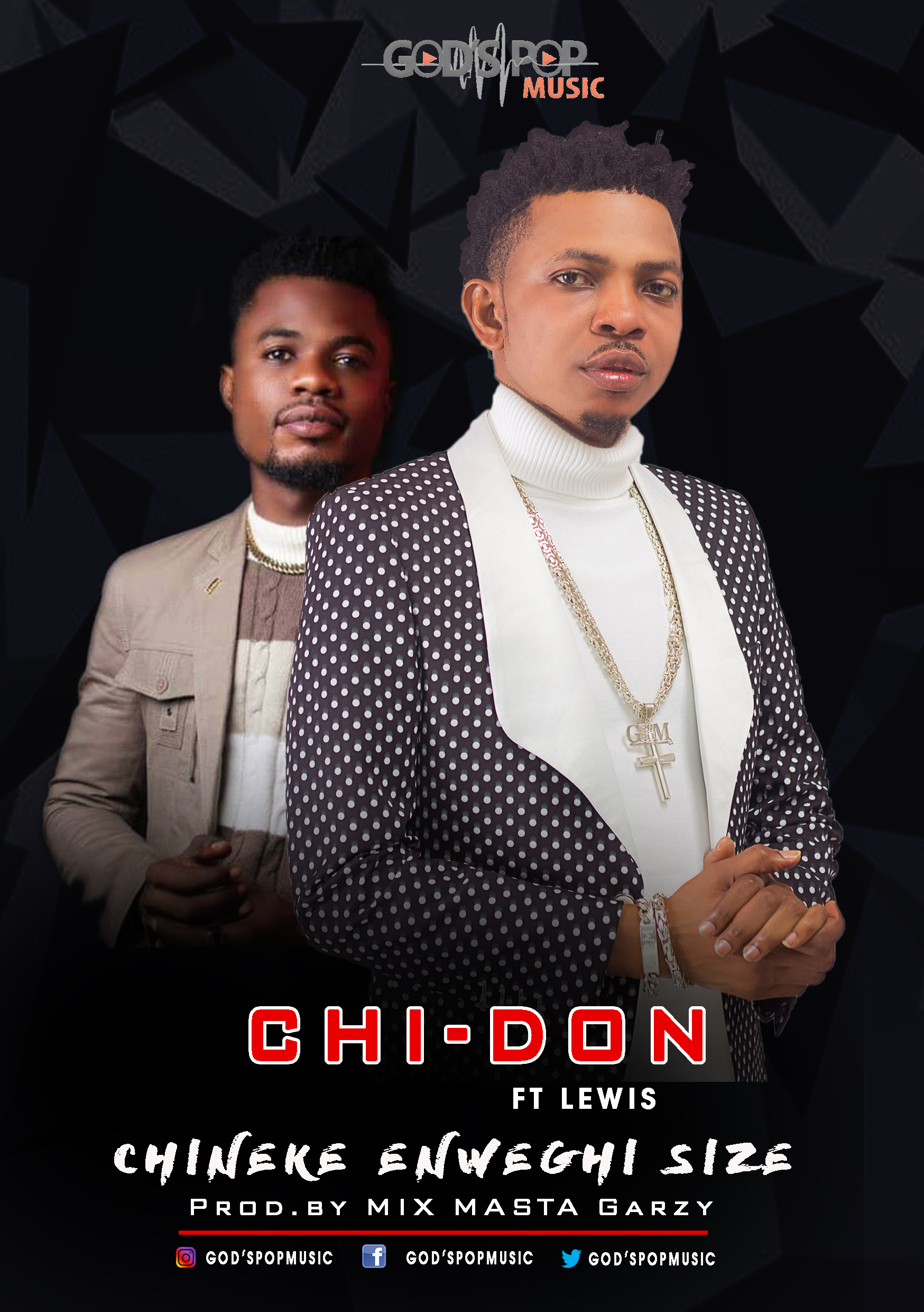 CHI-DON – the King of God's Pop Music – drops new single