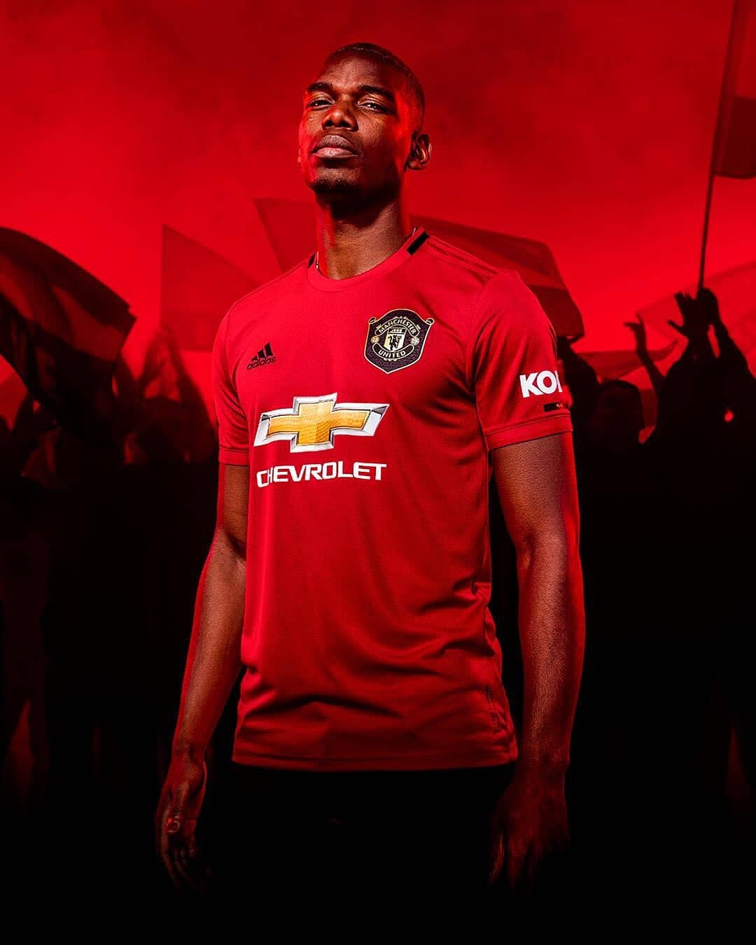 d41b41013 MANCHESTER UNITED have unveiled their new home kit for the 2019-20…and it s  1999-treble-inspired