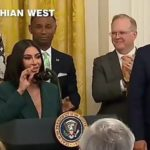 KIMs ARE NOT THE SAME ANYMORE..as Kardashian speaks at criminal justice reform event at the White House