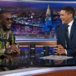 Burna Boy talks 'African Giant' & Afrofusion sound with Trevor Noah on The Daily Show…a must watch!