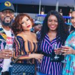 "A TOAST TO LIFE: ""Juliet Ibrahim's test of nerve & character always found a way""…Ytainment News' Kweku Suantah sums up in a pictorial deliciousness how the Ghana launch would forever be remembered"