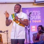 BBC Arts Hour on Tour: DKB's comedy craft sees him represent Ghana