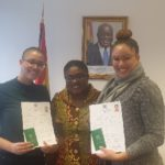 Collective Screams of Delight as two German Women receive Ghana's dual citizenship