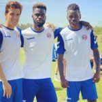 REMY TAZIFOR returns to training after Covid-19 Lockdown
