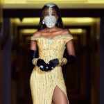 Photos of how super model, VICTORIA MICHAELS 'golden' the weekend's hot ticket occasion – the 2020 EMY AFRICA AWARDS