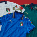 Paying tribute to Italian history and culture….PUMA links up with The Football Gal to create one-off fashion-inspired FIGC jerseys