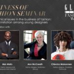 GLITZ AFRICA FASHION WEEK 2020: Business of Fashion Seminar to take place on the 7th of November