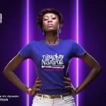 MONARKI features Miss Ghana 2012 Runner-up on the 'King and I' T-shirts