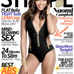 At 43 Naomi Campbell is still rocking…see her on the Shape Magazine