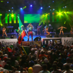 """2Face Performs """"GO"""" live at the St. Kitts Music Festival alongside Machel Montano"""