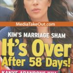 Kanye West leaves Kim K after just 58 days of marriage?