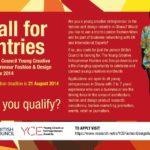 British Council announces Young Creative Entrepreneur Fashion and Design Award 2014