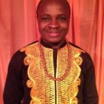 Proudly Ghanaian: Akesse Sanza raises Ghana's flag high @ the International Folk Music Festival 2014