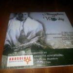 "Disclaimer: ""Atmosphere of Worship"" CD not Sonnie Badu's"