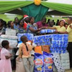 SEE PHOTOS: Mampong Babies Home got electrified by McBrown
