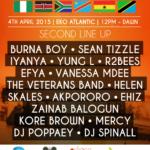 Gidi Culture Festival 2015 announces final lineup of artists, hosts & DJs