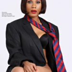 Zynnell Zuh goes smokey hot on the cover of House of Maliq Magazine