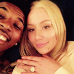Iggy Azalea accepts Nick Young's proposal….shows of ring