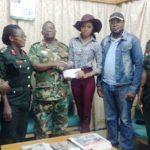 Miss Ghana 2010, STEPHANIE KARIKARI donates to fire & flood victims @ the 37 Military Hospital