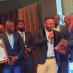OLAKUNLE CHURCHILL, Tonto's husband honored as 'Nigerian Goodwill Ambassador' in photos