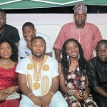 Photos: OLAKUNLE CHURCHILL surprised by his family & friends to a dinner party in Accra