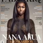 Ghanaian Top Model NANA AFUA ANTWI Covers FabAfriq Magazine's 'Eco' Issue