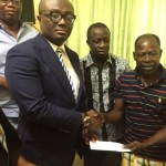 Iron visit: AMAKYE DEDE visited by Ghana President, then Bola Ray & his EIB Network family