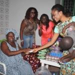 CHRISTABEL EKEH donates to Teshie Orphanage – see photos