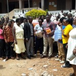 TAGOE SISTERS donate to Mampong School For The Deaf